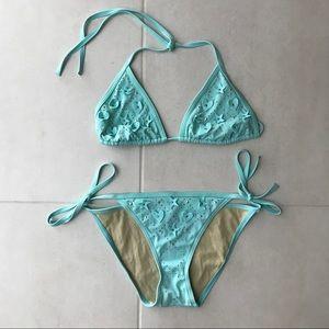 Victoria's Secrets Bikini Set Top S Bottom M